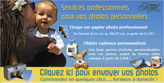 Impression des photos Client